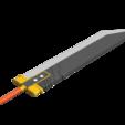 Buster_Sword_2018-Jun-20_10-12-41AM-000_CustomizedView31422718043_png_alpha.png Download STL file Final Fantasy VII - Buster Sword - Bracelet - Shoulder pad  • 3D print model, 3Dutchie