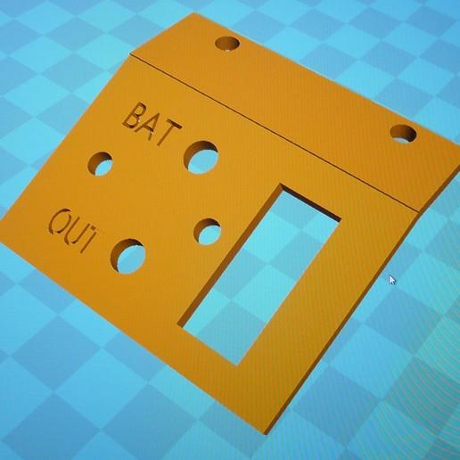 Télécharger fichier STL gratuit Mini tableau de commande , e4fun