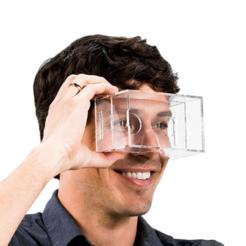 Free 3D printer designs Google Cardboard Plastic, Mathi_