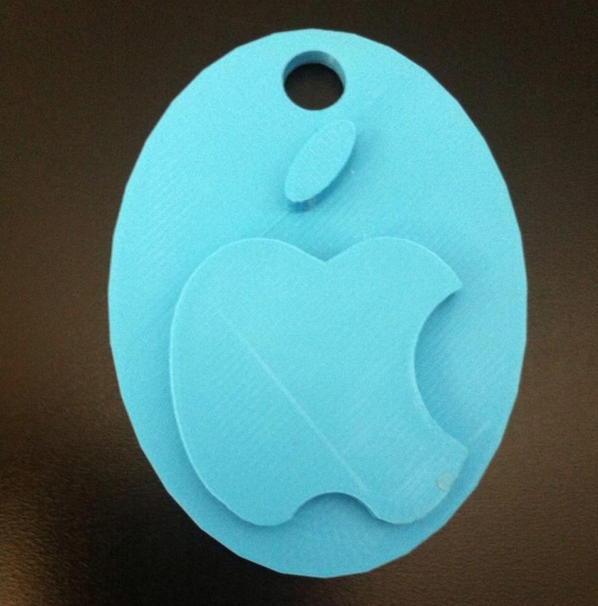 Capture d'écran 2016-12-08 à 11.49.18.png Download free STL file Apple logo & keychian • Design to 3D print, Mathi_