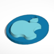 Download free STL file Apple logo & keychian, Mathi_