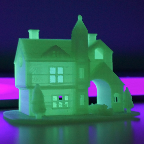 Download 3D printing templates Christmas house, Mathi_