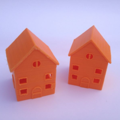 Download free 3D printing models Simple house, Mathi_