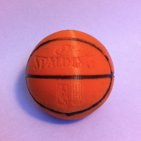 Download free STL Spalding Basketball ・ Cults