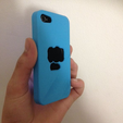 Download free 3D printer files Pewdiepie Bro fist iPhone4/4s case, Mathi_