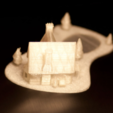 Capture d'écran 2016-12-08 à 12.44.25.png Download STL file Christmas House With frozen pond • 3D printer template, Mathi_