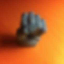 Download free STL file Bro fist, Mathi_