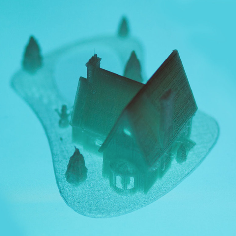 Capture d'écran 2016-12-08 à 12.44.08.png Download STL file Christmas House With frozen pond • 3D printer template, Mathi_