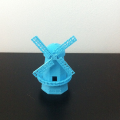 Download free 3D printing templates windmill, Mathi_