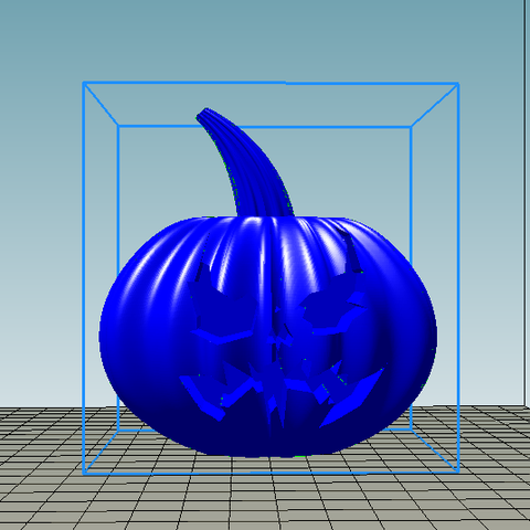 Download STL file Halloween Pumpkin Batman Arkham Knight • Object to 3D print, ErosBazan