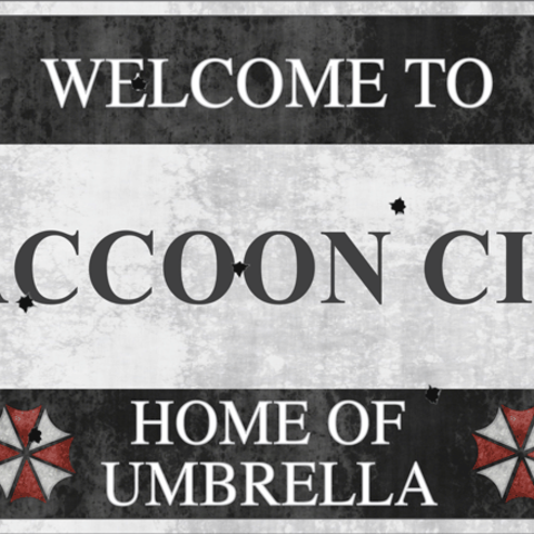 Download STL file Welcome to Raccoon City - Resident Evil • 3D printable design, ErosBazan
