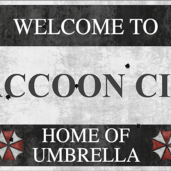 Welcome to Raccoon City - Resident Evil 3D model, ErosBazan