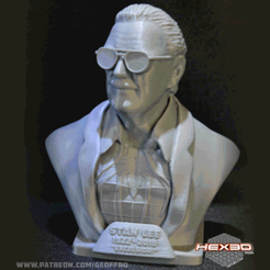 Free 3d printer model Stan Lee Memorial , Geoffro