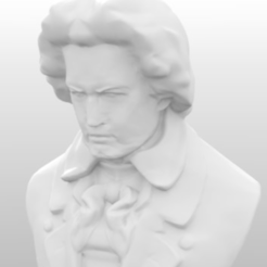 Free STL files Beethoven Resculpted, Geoffro