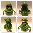 Modelos 3D para imprimir gratis Slimer esculptado 70mb, Geoffro