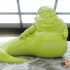Download free 3D printer designs Santa the Hutt, Geoffro
