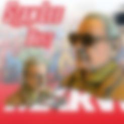 Diseños 3D gratis Stan Lee Busto, Geoffro