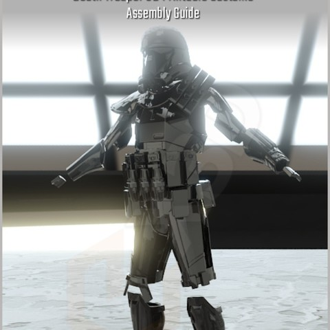 Download STL file DeathTrooper 3D Printable Costume • 3D printable template, Geoffro