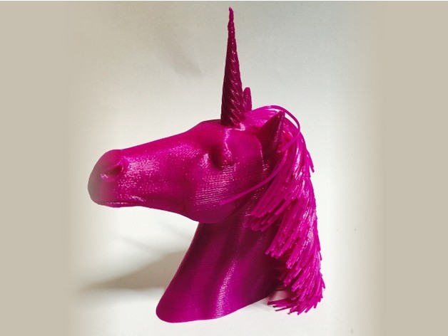 a2336ed1c2cc707a7d464a3906810725_preview_featured.jpg Download free STL file Hairy Unicorn (plus dual extrusion version) • 3D printer model, Geoffro