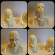 Download free 3D model Darth Vader Reveal Bust, Geoffro