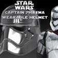 Descargar modelo 3D gratis Capitán Phasma Casco portátil, Geoffro