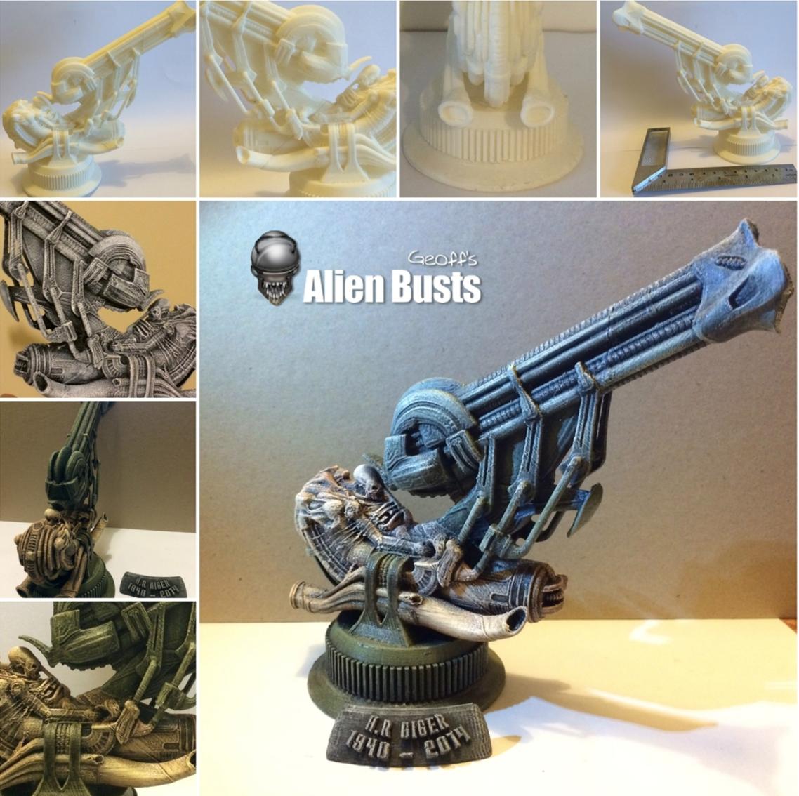 Capture d'écran 2016-12-12 à 17.30.00.png Download free STL file Alien Jockey Commemorative Bust / Model • 3D printable design, Geoffro