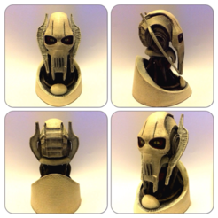 Download free 3D printer designs Grevious Printable, Geoffro