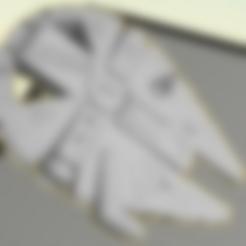 Free STL files Millennium Falcon Penny Bottle Opener (5C), Geoffro