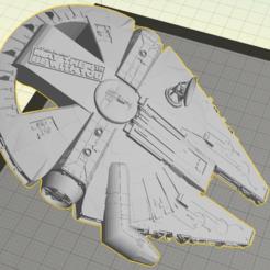 Descargar modelo 3D gratis Abrebotellas Millenium Falcon Penny (5C), Geoffro
