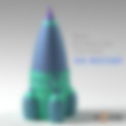 Descargar diseños 3D gratis Cohete de extrusión dual, Geoffro