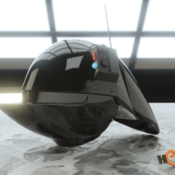 Download STL file Imperial Gunner 3D Printable Helmet • 3D print design, Geoffro