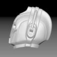 Download free STL file Cybermen Scale Helmet (High Res) • 3D printing design, Geoffro
