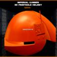 UpdatedPart.png Download STL file Imperial Gunner 3D Printable Helmet • 3D print design, Geoffro