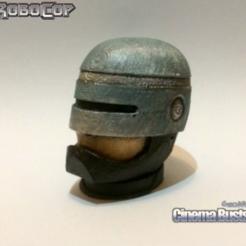 Descargar archivos 3D gratis robocop Busto de la cabeza (entero y en rodajas), Geoffro