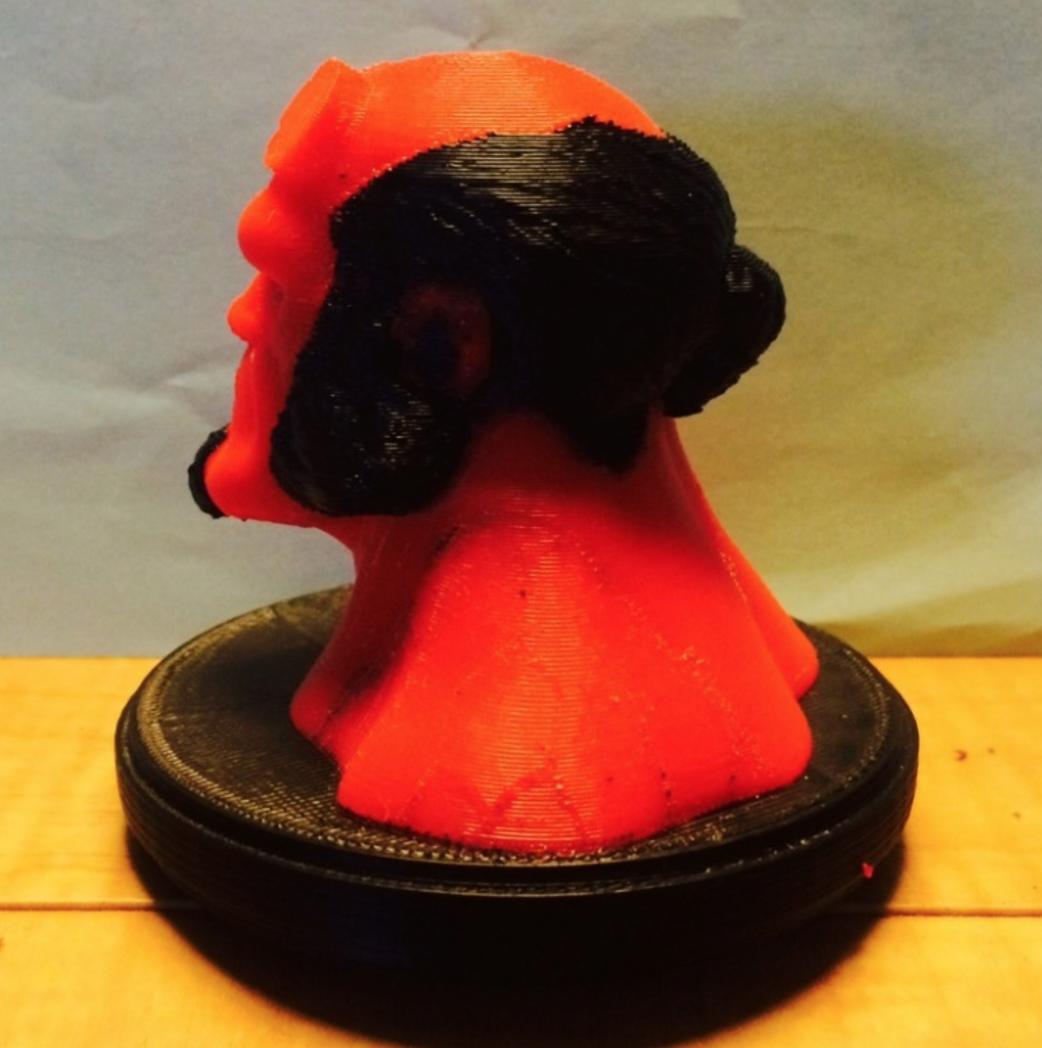 Capture d'écran 2016-12-12 à 12.20.01.png Download free STL file Hellboy Dual Extrusion Bust • 3D printer object, Geoffro