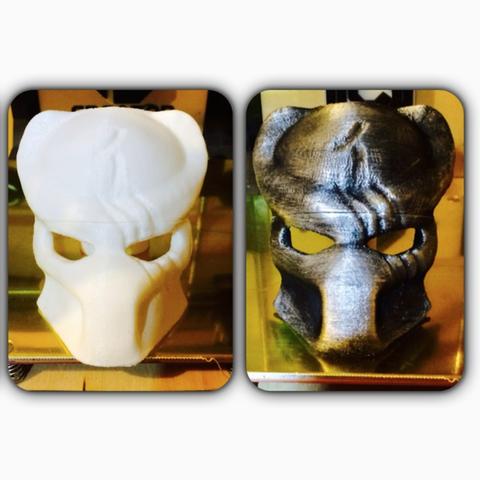 Capture d'écran 2016-12-12 à 12.54.41.png Télécharger fichier STL gratuit Masque Predator avec dégâts de combat • Objet imprimable en 3D, Geoffro