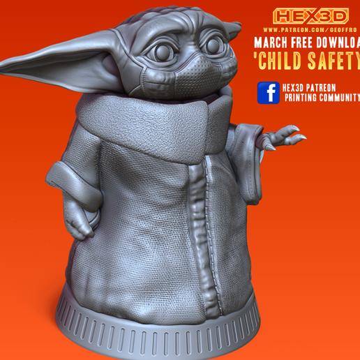 Télécharger fichier STL gratuit Sécurité des enfants - Corona 2020, Geoffro