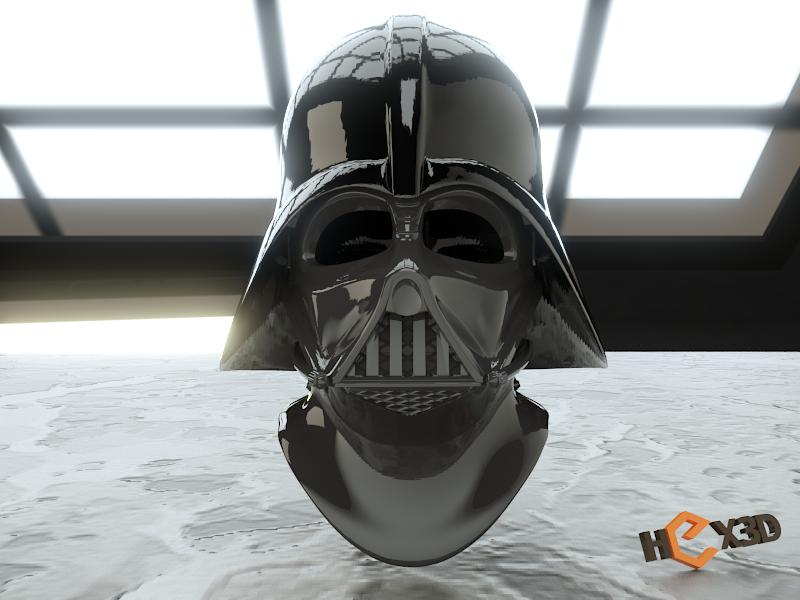 dome_render.png Descargar archivo STL Darth Vader - Casco de Revelación 3D para Imprimir • Diseño para imprimir en 3D, Geoffro