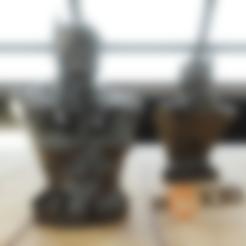Batman_HD.stl Download free STL file Another Batman Bust (HD) Arkham • 3D print object, Geoffro