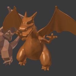 Download free 3D printer designs Charizard sculpt, Geoffro