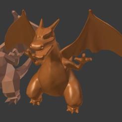 Descargar modelo 3D gratis Charizard esculptado, Geoffro