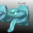 Capture d'écran 2016-12-12 à 19.36.19.png Download free STL file Disney UP Dog Resculpt • 3D printable template, Geoffro