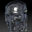 Download free STL file T-800 Single and 3 Piece High Detail Head • 3D printable design, Geoffro