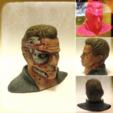 Descargar modelos 3D gratis T-800 Daño Busto (28MB), Geoffro