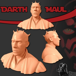 Free 3D model Darth Maul Bust, Geoffro
