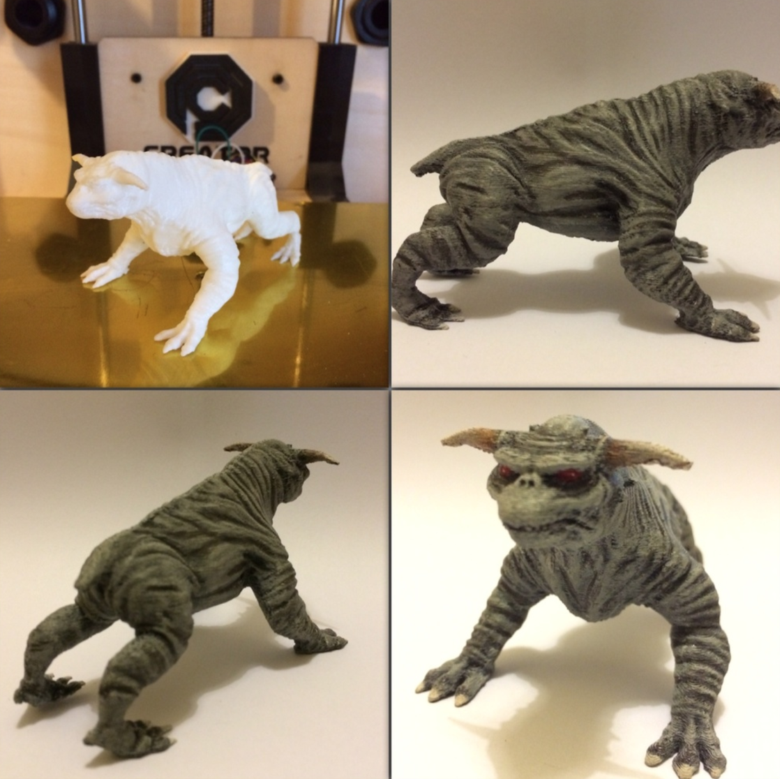 Capture d'écran 2016-12-12 à 17.35.26.png Download free STL file Ghostbusters Terror Dog Re-Sculpted • 3D printable template, Geoffro