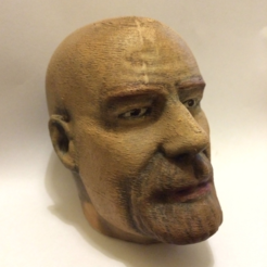 Free 3D model Walter White Sculpt (with plaque), Geoffro