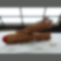 Hex3D_Talon_Saber_Joiner.stl Download STL file Darth Talon LightSaber • 3D print template, Geoffro