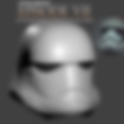PART_11.stl Download free STL file Wearable Episode VII StormTrooper Helmet • 3D printable model, Geoffro