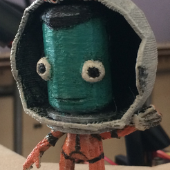 Télécharger fichier impression 3D gratuit Figurine de Kerbal (Waving Pose), Geoffro